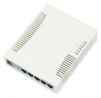MikroTik Cloud Smart Switch CSS106-5G-1S (RB/260GS), Layer2 Switch only