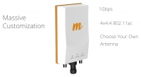mimosa PTP System B5c,  5GHz connectorized 2 x N-Type, 1Gbps aggregated IP
