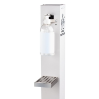 meconet hand disinfection base with foot operation