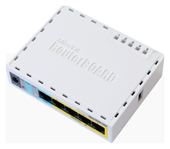 MikroTik RouterBOARD RB 750UP