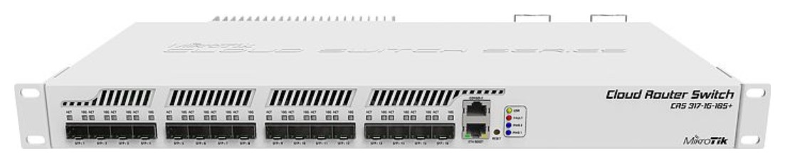 Mikrotik Cloud Router Switch Crs317 1g 16s Rm Layer2