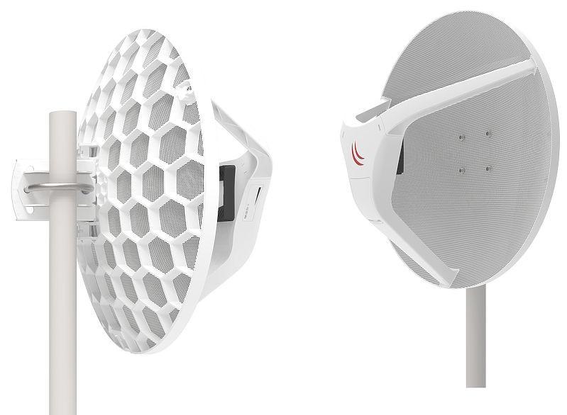 MikroTik RB/LHGG-60ad Kit - Wireless Wire Dish 60GHz 1.8 Gb/s ...