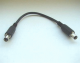 Adapter cable ca. 15cm for PoE splitter -> board 5.5/2.1mm