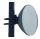 26GHz Antenna, Dual Pol., Circular Flange, SIAE Direct Mount for ALFO+2, 2 ft